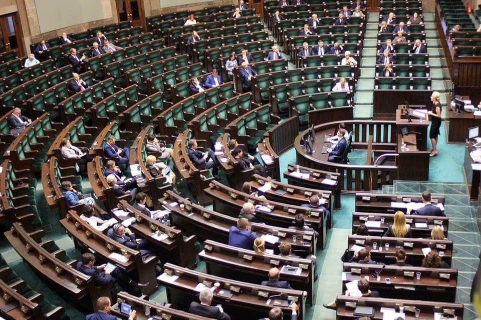 Sejm w czasie prac nad ustawami o aborcji