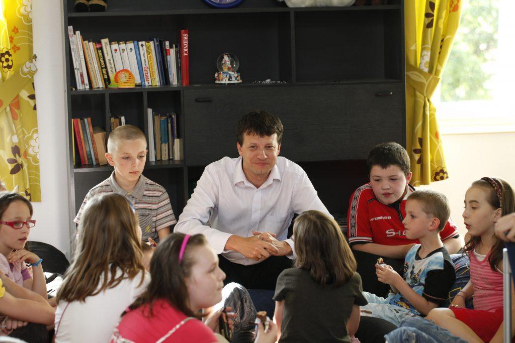 Fot. Jola Lipka / Rzecznik Praw Dziecka Marek Michalak
