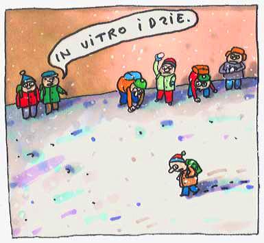 in vitro rysunki