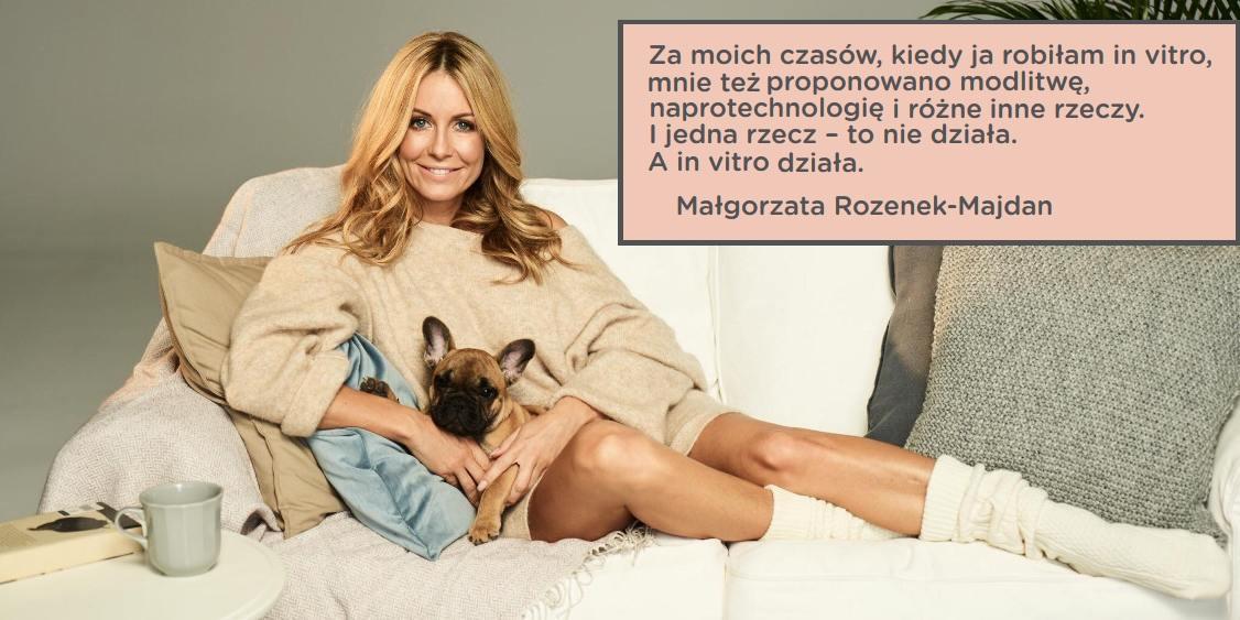 """Fot. Facebook Małgorzata Rozenek-Majdan / Sesja do programu """"W dobrym stylu"""""""