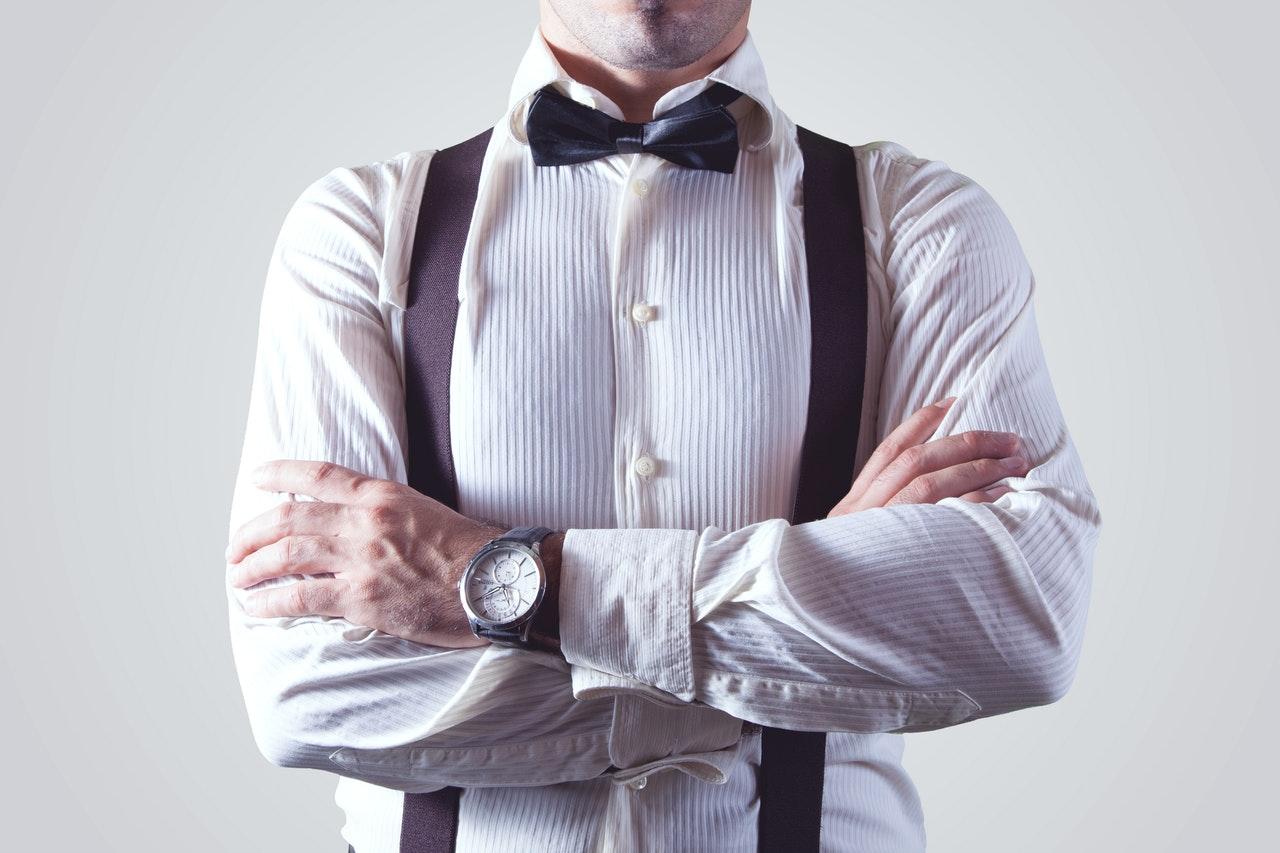 Elegancko ubrany mężczyzna 'Ilustracja do tekstu: Sympozjum Zdrowie prokreacyjne mężczyzny