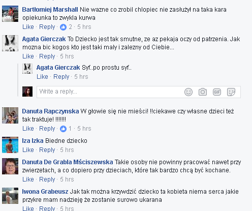 fot/screen z facebooka Marioli Gepnfert