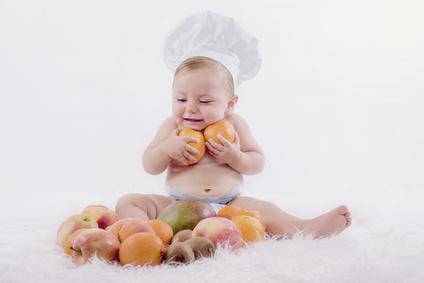 Beb con frutas