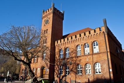 City Hall Building in Szczecinek - Poland