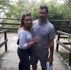 Na zdjęciu Daria i jej mąż. Archiwum prywatne