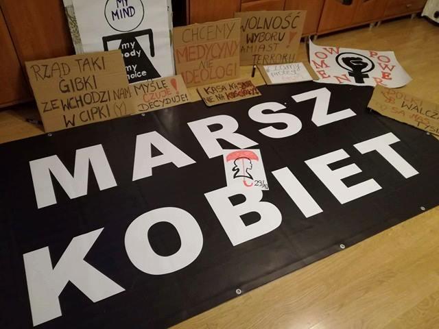 Marsz Kobiet w Katowicach