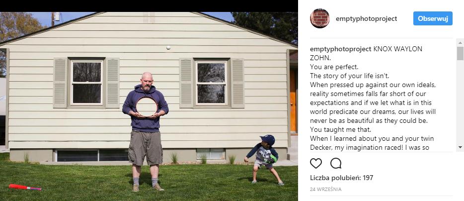 Instagram @emptyphotoproject