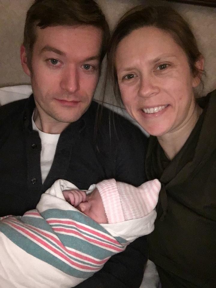 lekarka przyjęła poród 14 godzin po własnym porodzie