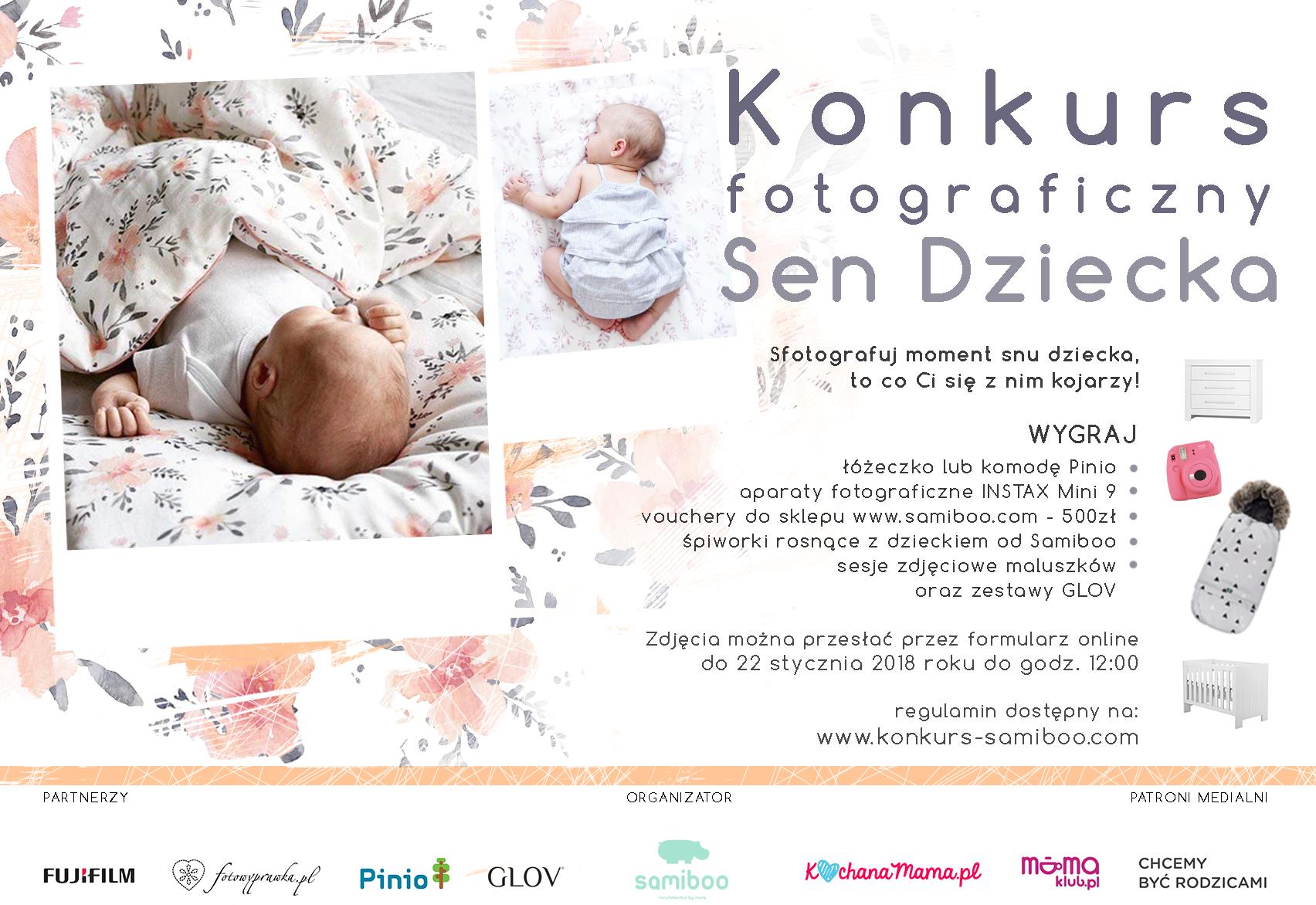 II edycja konkursu fotograficznego SEN DZIECKA