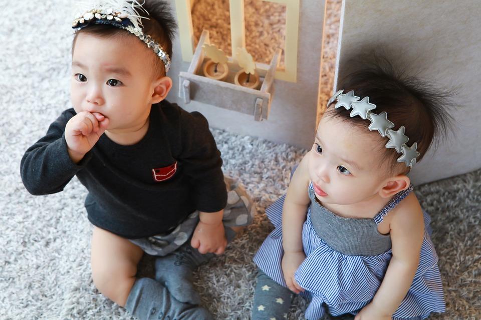 Bliźnięta - dwie dziewczynki