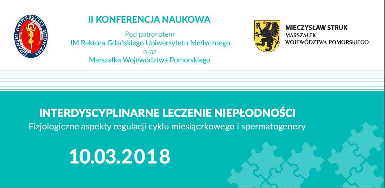 """Konferencja Interdyscyplinarne leczenie niepłodności"""" - plakat"""