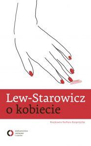 """Poradniki dla par: Lew Starowicz: """"O kobiecie"""" (okładka)"""