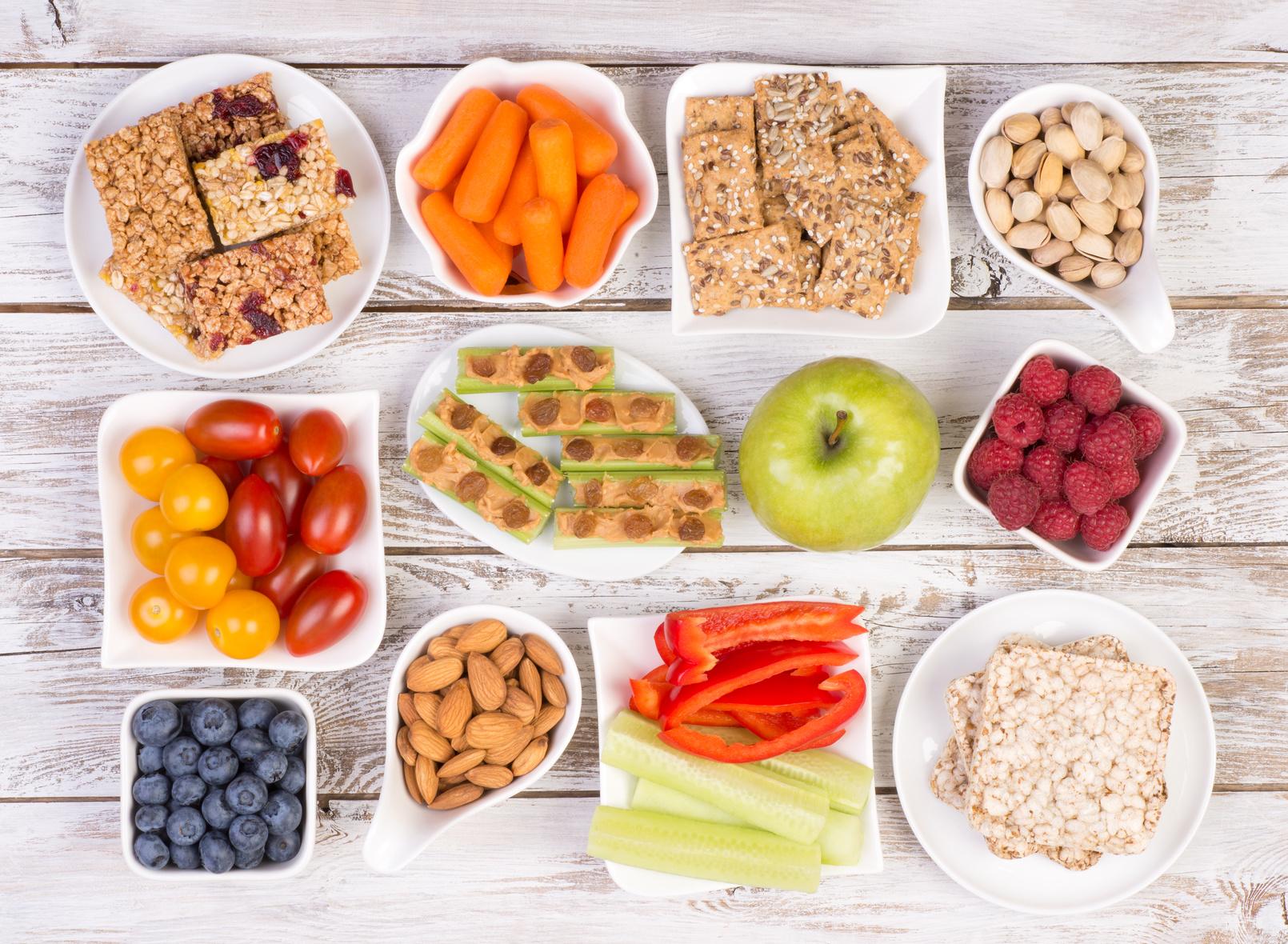 Dieta płodności - przekąski