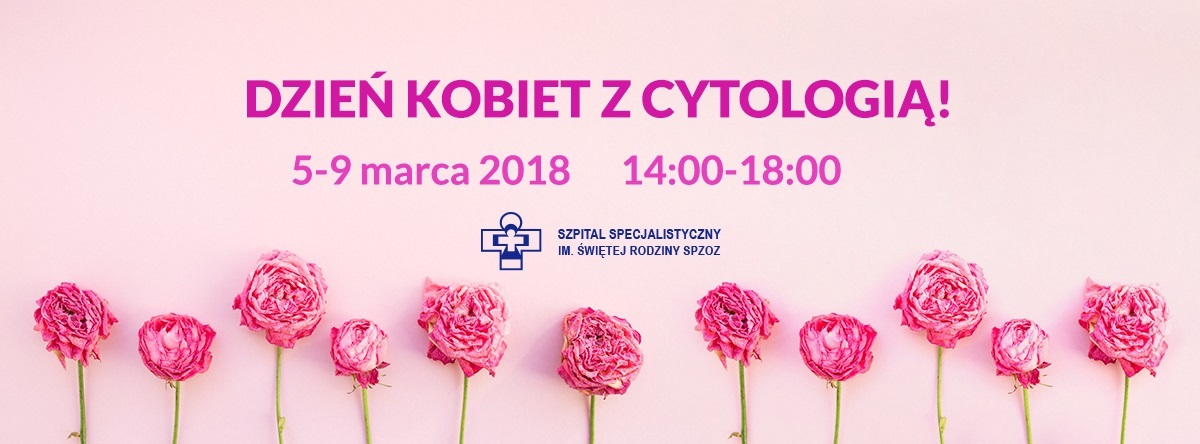"""""""Dzień kobiet z cytologią"""""""