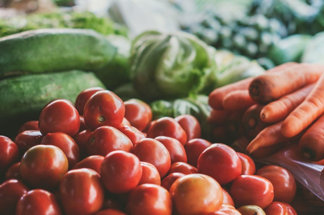 Warzywa na straganie /Ilustracja do tekstu: Goitrogeny a tarczyca