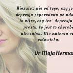 In vitro i depresja poporodowa – dr Maja Herman opowiada o jej leczeniu