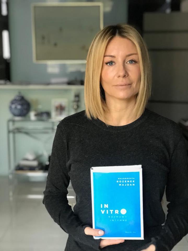 Małgorzata Rozenek napisała książkę o in vitro