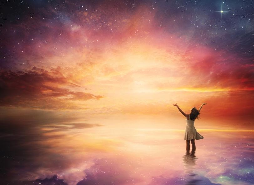 Potęga myśli i marzeń - źródło szczęścia jest w Tobie