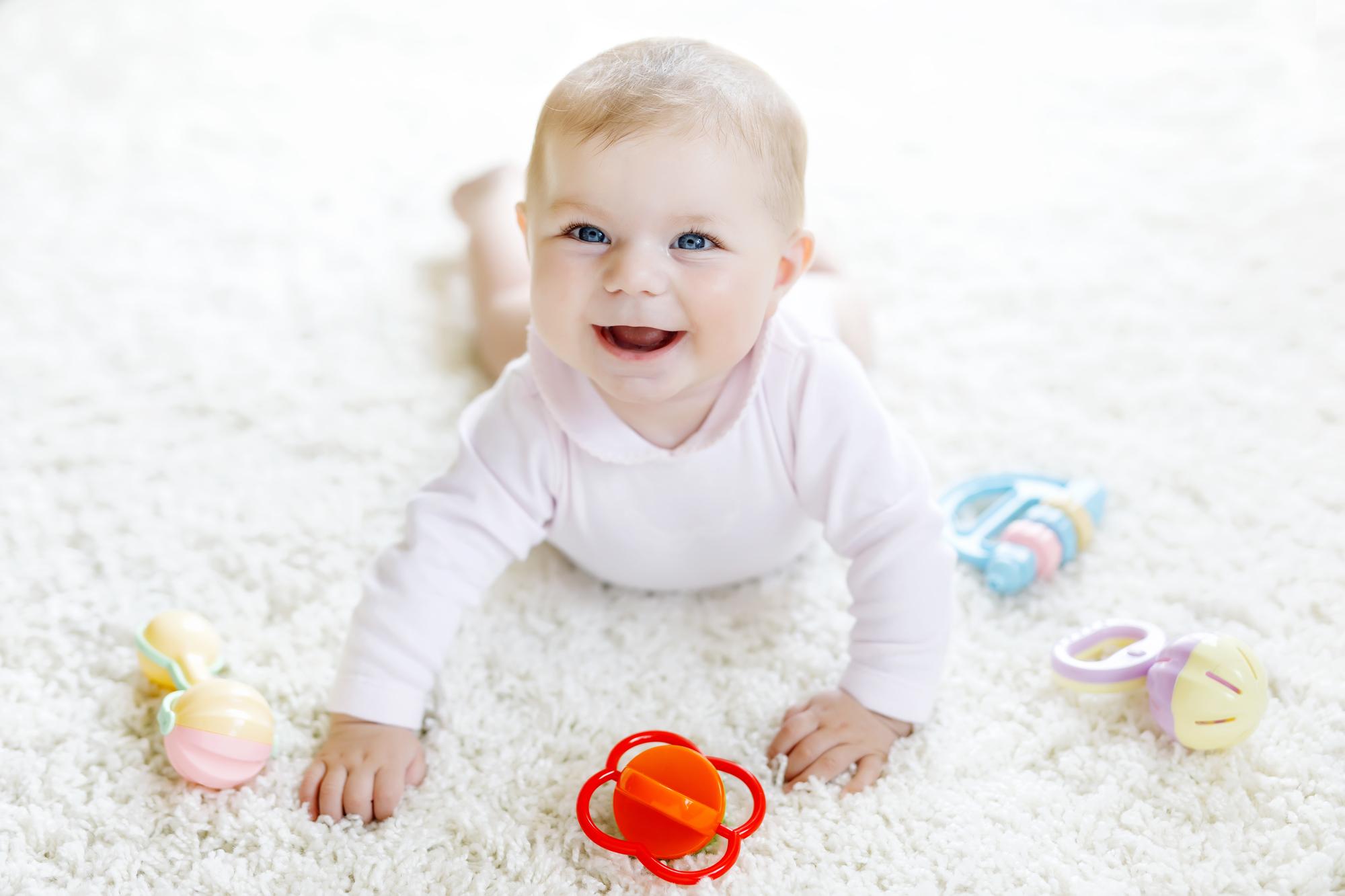 V miesiąc życia dziecka