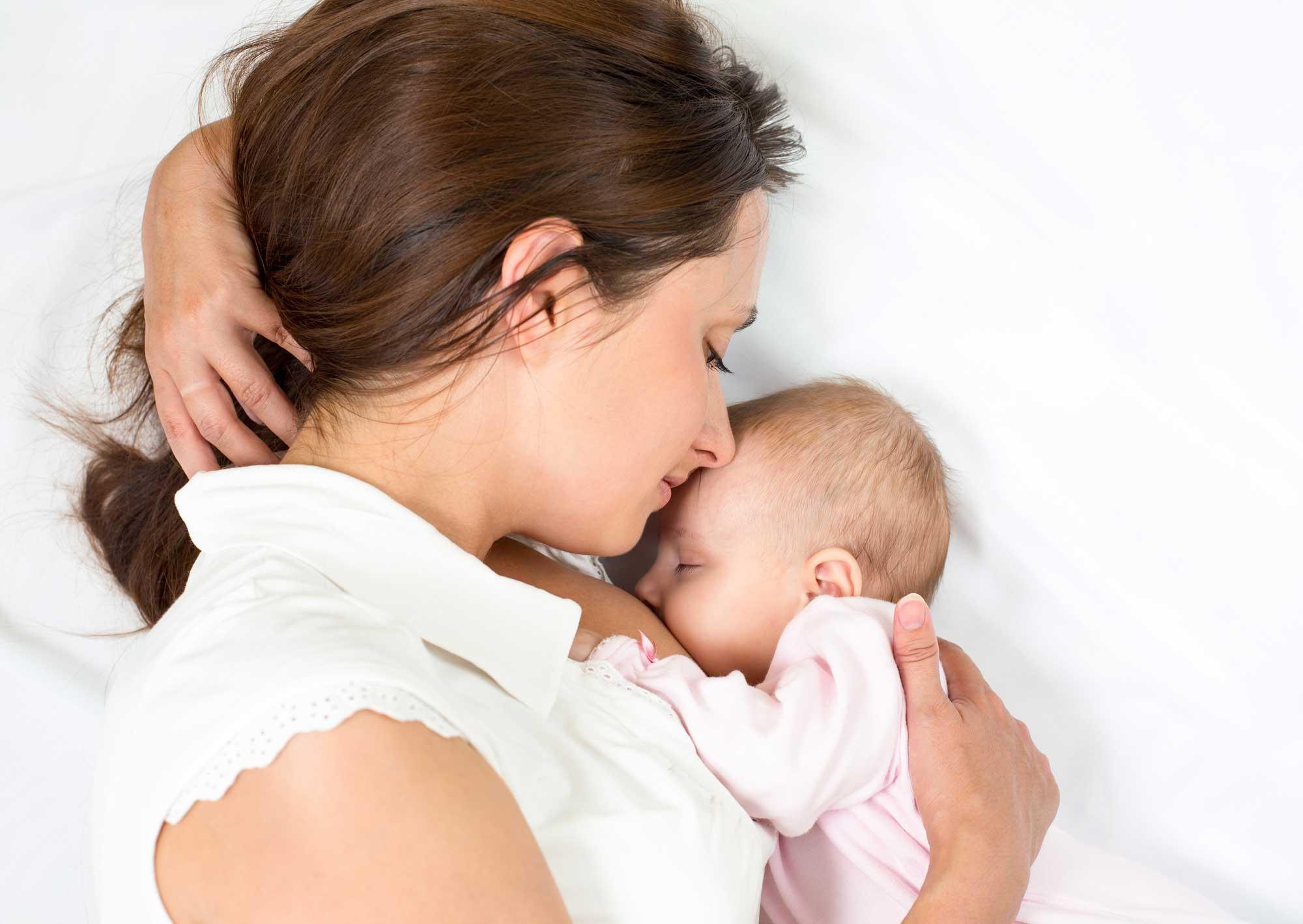 karmienie piersią w ciąży