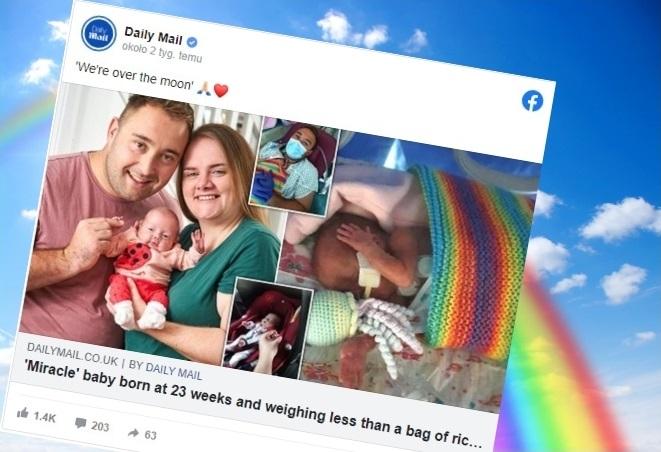 Dziecko urodzone w 23 tygodniu ciąży