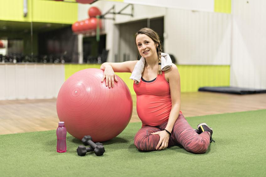 siłownia w ciąży